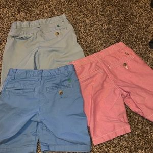 3 Polo Ralph Lauren Shorts and 1 Hat